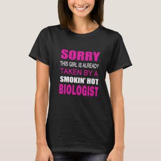 TAKEN BY A BIOLOGIST T-Shirt