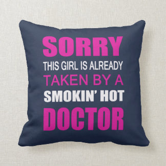 Taken By A Doctor Cushion