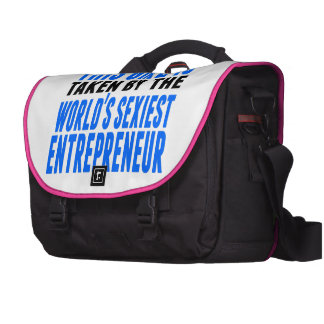 Taken By The World's Sexiest Entrepreneur Laptop Computer Bag