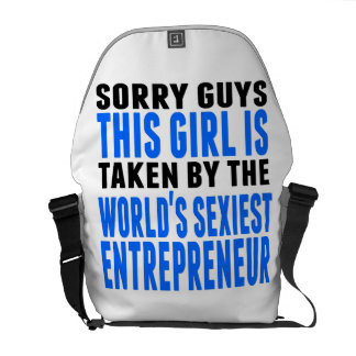 Taken By The World's Sexiest Entrepreneur Courier Bags