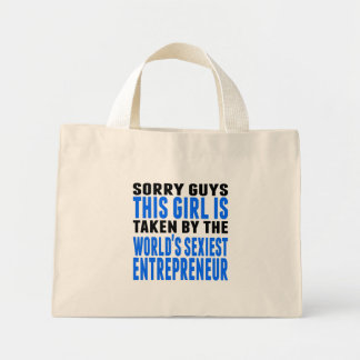 Taken By The World's Sexiest Entrepreneur Mini Tote Bag