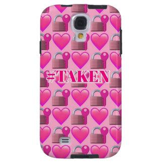 Taken Emoji (Pink) Samsung Galaxy S4 Phone Case