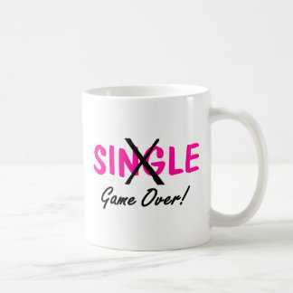 Taken (Game Over Pink) Basic White Mug