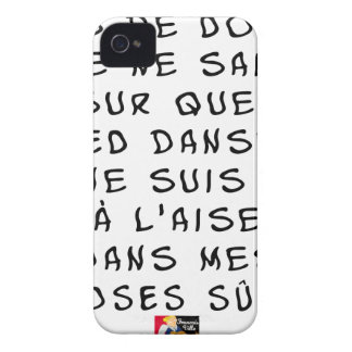 Taken of DOUBT I cannot about which FOOT dance, I iPhone 4 Case-Mate Case