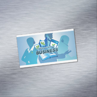 Taking care of Business Custom Magnetic, Business Magnetic Business Card
