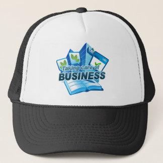 Taking care of Business dark Trucker Hat
