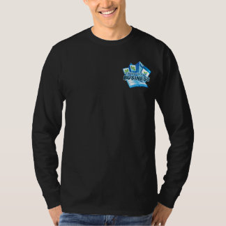 Taking care of Business Men's  dark long sleeve T-Shirt