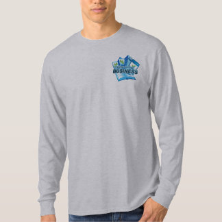Taking care of Business Men's grey long sleeve T-Shirt