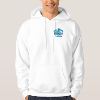 Taking care of Business Men's white Sweatshirt
