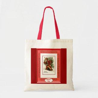 Taking the Christmas tree home Tote Bag