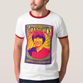 Taking Woodstock Ringer Tee