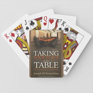 Taking Your Place Playing Cards
