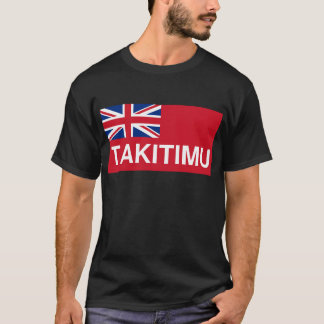 Takitimu Flag (New Zealand Maori) T-Shirt