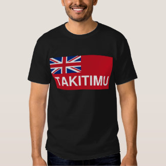 Takitimu Flag (New Zealand Maori) Tshirts
