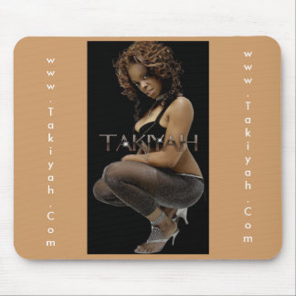 "Takiyah ""Elegant"" Mouse Pad"