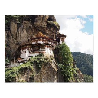 Taktsang Monastery (Tiger's Nest) in Bhutan Postcard