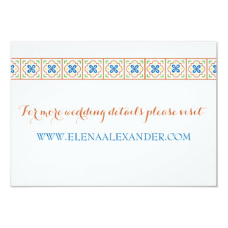 Talavera Spanish Tile Website Card