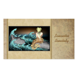 Tale of the Mermaid Art Profile Cards Business Card