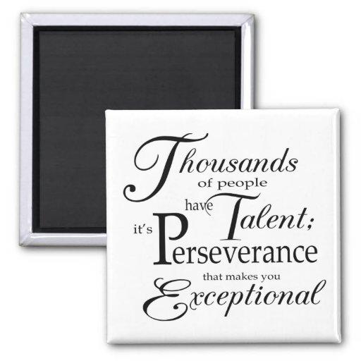 Talent Fridge Magnet