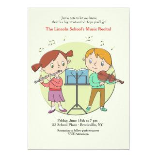 Talented Kids Invitation