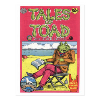 Tales of Toad #1, 1970 Postcard