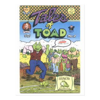Tales of Toad #2, 1971 Postcard