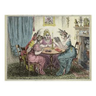 Tales of Wonder -dedicated to M.G. Lewis Esq' Postcard