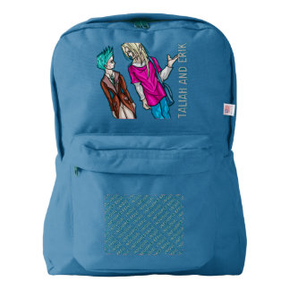 Taliah and Erik Backpack
