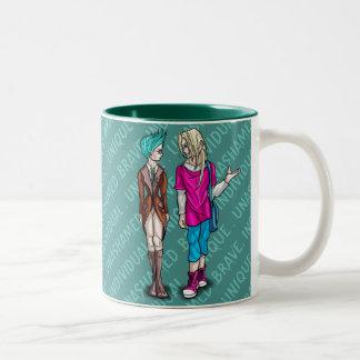 Taliah and Erik Two-Tone Coffee Mug