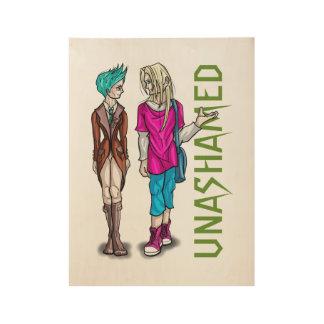 Taliah and Erik Wood Poster