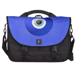 Talisman to Protect Against Evil Eye Laptop Messenger Bag