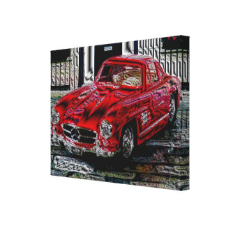 Talk 300 SL - digital Work - Jean Louis Glineur Canvas Print