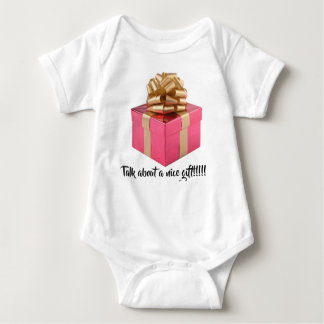 Talk about a nice gift!!!!! baby bodysuit