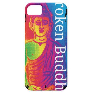 Talk broken buddha iPhone 5 cover