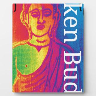 Talk broken buddha plaque