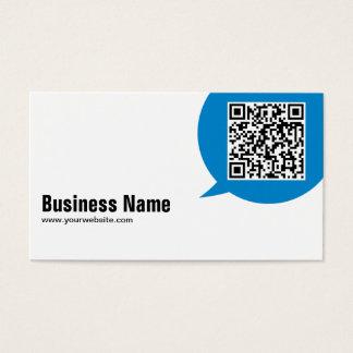 Talk Bubble Landscape Architect Business Card