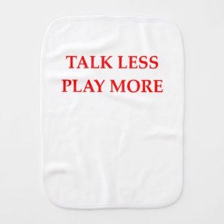 TALK BURP CLOTH