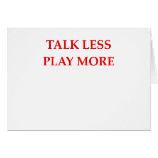 TALK CARD