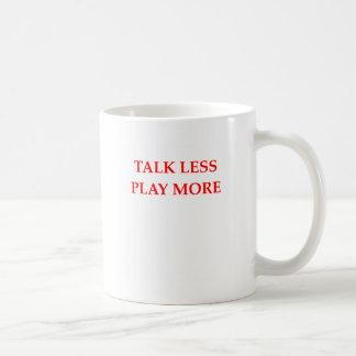 TALK COFFEE MUG