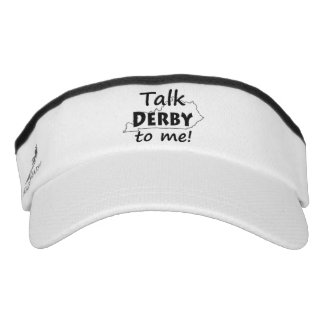 Talk Derby to me | Derby Horse Race Fans Visor