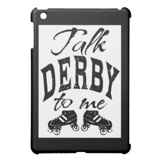 Talk Derby to me, Roller Derby iPad Mini Cover