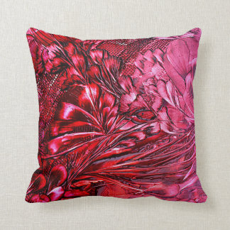 talk floral cushion