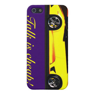 Talk is cheap cases for iPhone 5