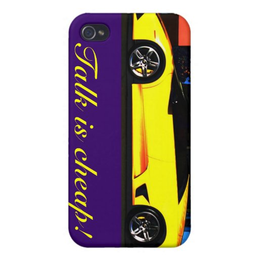 Talk is cheap iPhone 4 cover