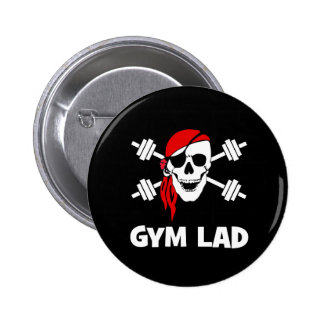 Talk Like A Pirate Day Gym Lad Pins