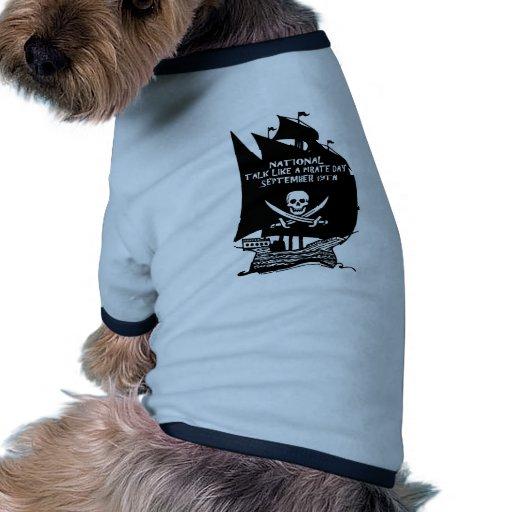 Talk Like A Pirate Day Ship Dog Clothing