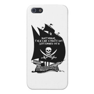 Talk Like A Pirate Day Ship Covers For iPhone 5