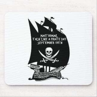 Talk Like A Pirate Day Ship Mousepads