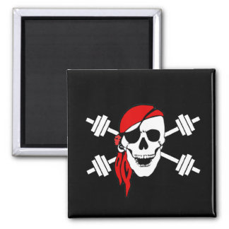 Talk Like A Pirate Day Square Magnet