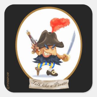 Talk like a Pirate Day sticker